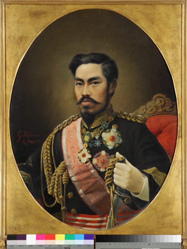 作品画像:明治天皇肖像