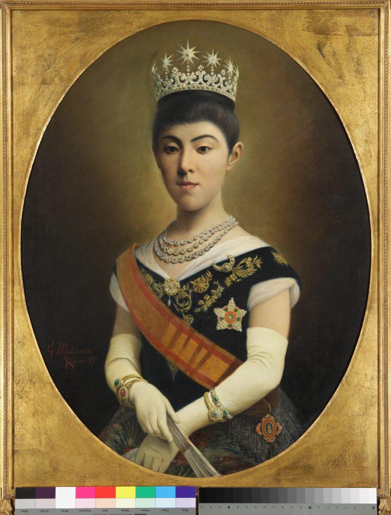 作品画像:昭憲皇太后肖像