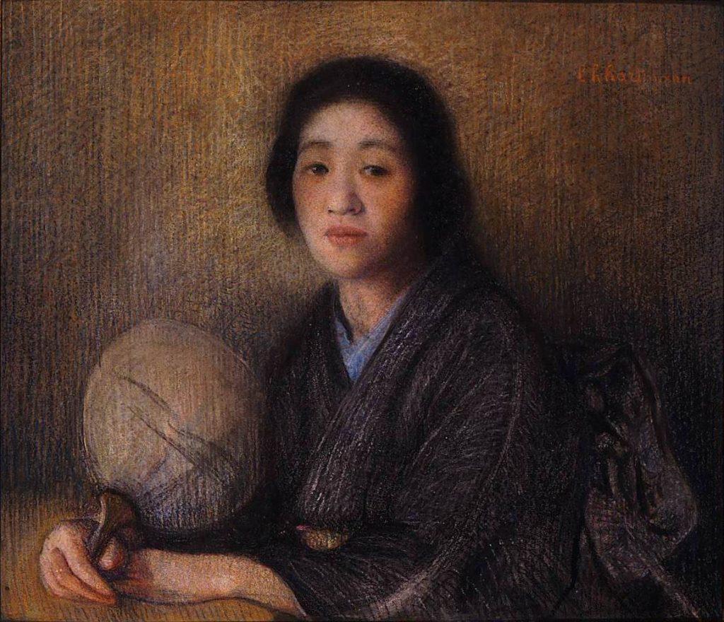 作品画像:朝香宮允子妃肖像(和装)
