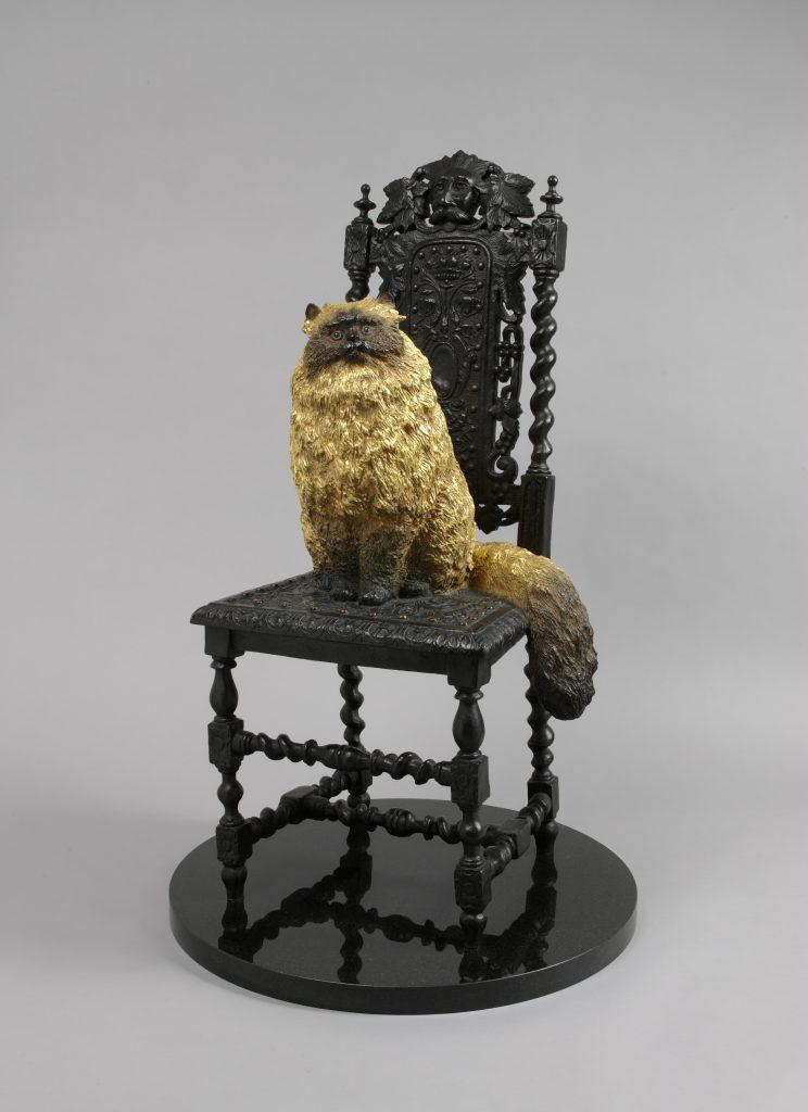 作品画像:大将の椅子