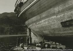 作品画像:造船所風景