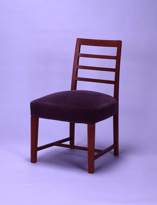 作品画像:永積寅彦邸応接室 小椅子