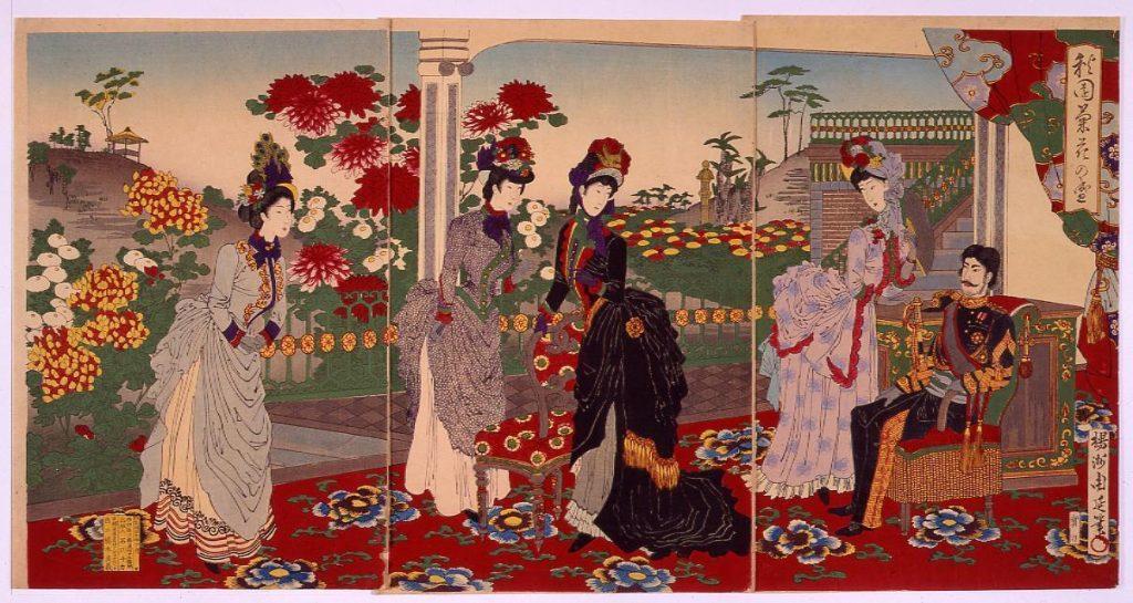 作品画像:秋園菊花の盛
