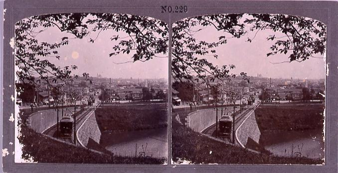 作品画像:九段坂の市電(No.229)