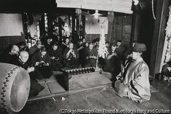 作品画像:宮参り寺参り 小豆粥を頂く