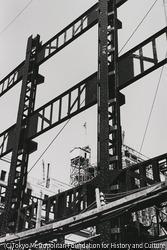 作品画像:東京丸の内 ビルディング建設現場