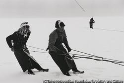 作品画像:氷の下の地曳き網
