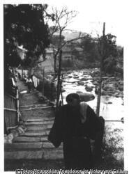 作品画像:川端康成『伊豆の踊り子』湯ヶ野温泉、流れるは河津川