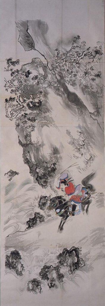 作品画像:粉本 玄徳檀渓を越える