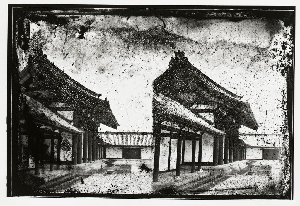 作品画像:京都御所 承明門