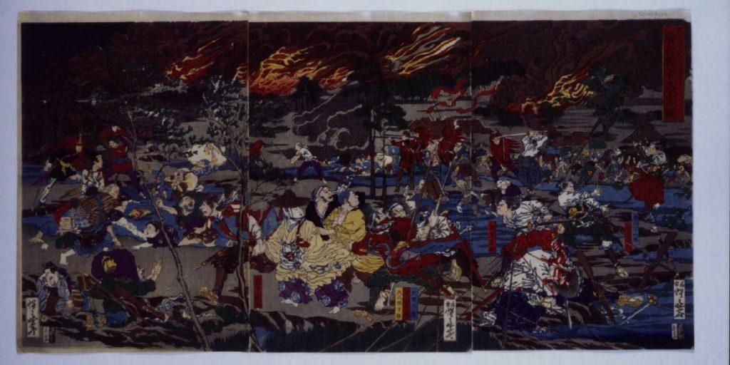 作品画像:東台戦争落去之図