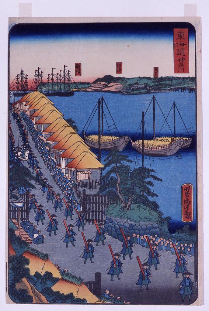 作品画像:東海道 神奈川