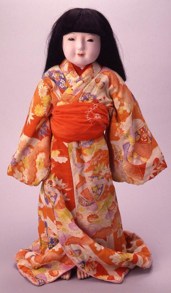 作品画像:市松人形
