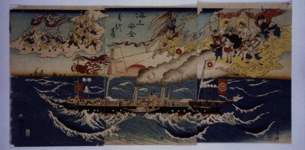 作品画像:海上安全萬代寿