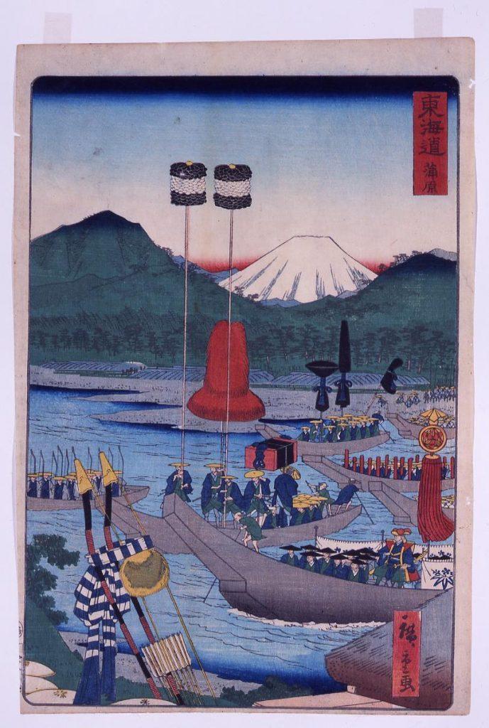 作品画像:東海道 蒲原