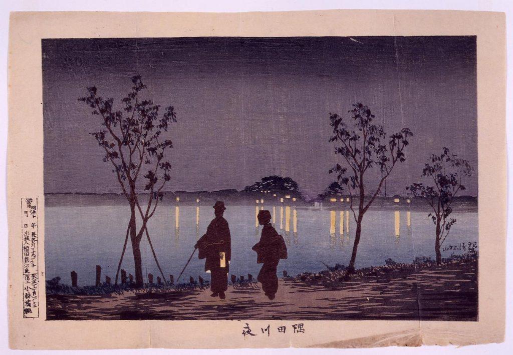 作品画像:隅田川夜