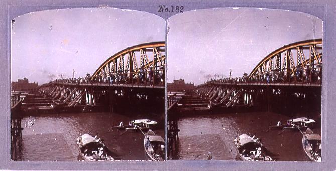 作品画像:カルカッタの浮橋ハウラー(No.182)