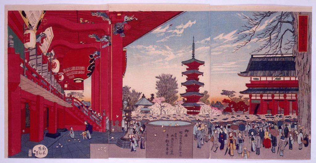 金龍山浅草寺之図
