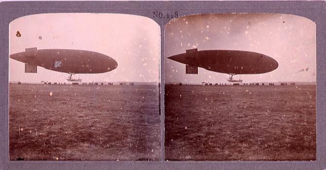 作品画像:パルゼバール式飛行船(No.418)