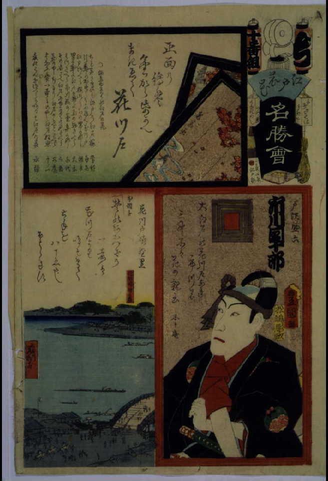 作品画像:江戸の花名勝会 ち 十番組