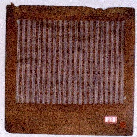 作品画像:長板中形 型紙