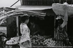 作品画像:那覇の市場
