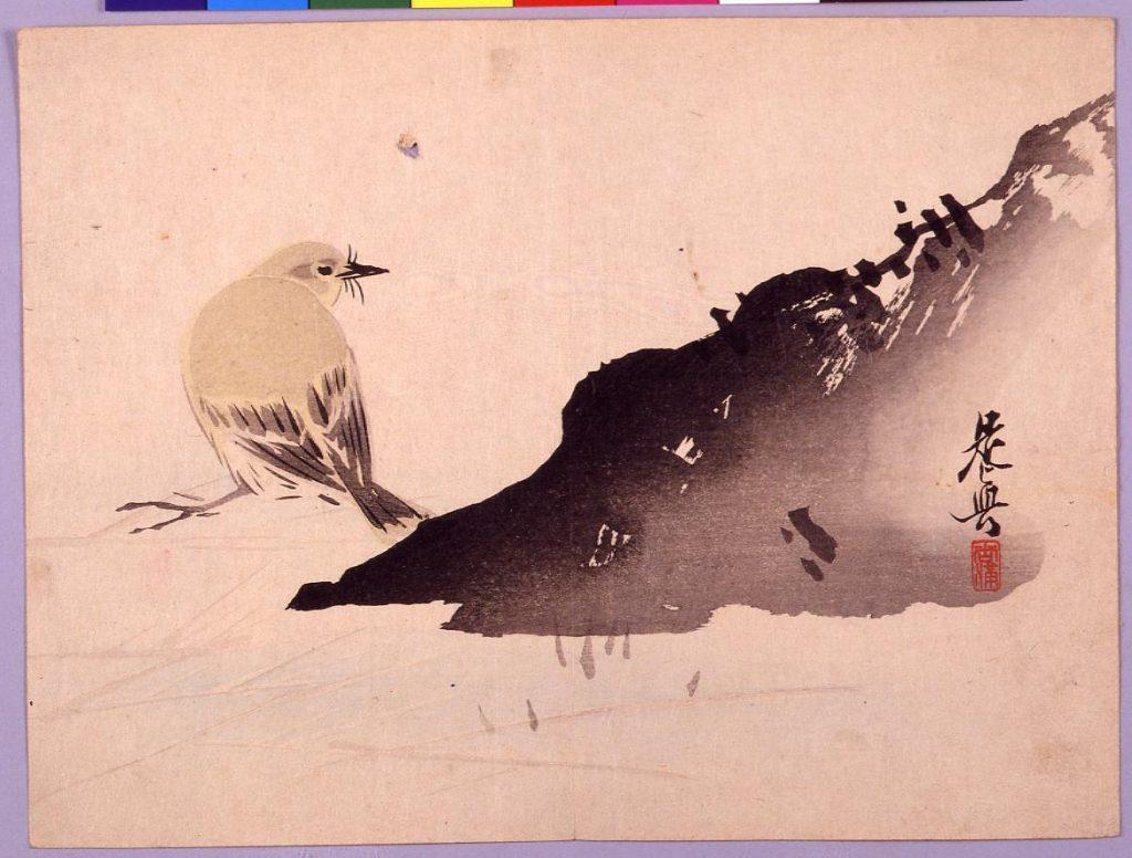 作品画像:うぐいす山水図