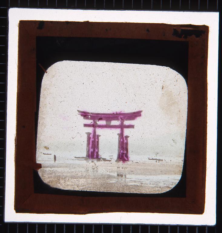 作品画像:幻燈種板 日本名所