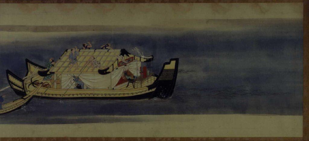 作品画像:隅田川遊興絵巻