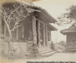 作品画像:亀山八幡宮社殿