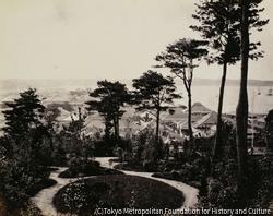作品画像:横浜と山の手