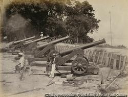 作品画像:9月6日、フランスの第6砲兵中隊