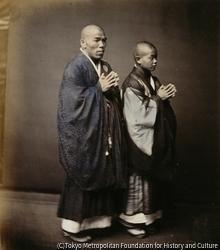 作品画像:日本の僧侶