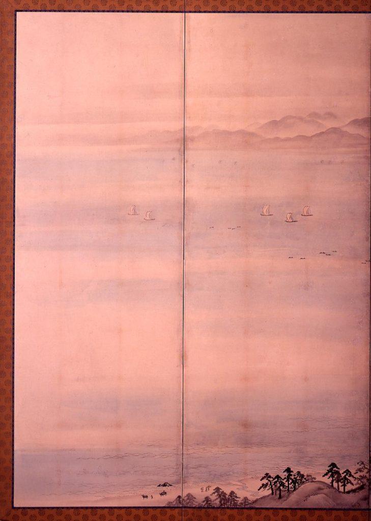 作品画像:鎌倉・江の島図屏風