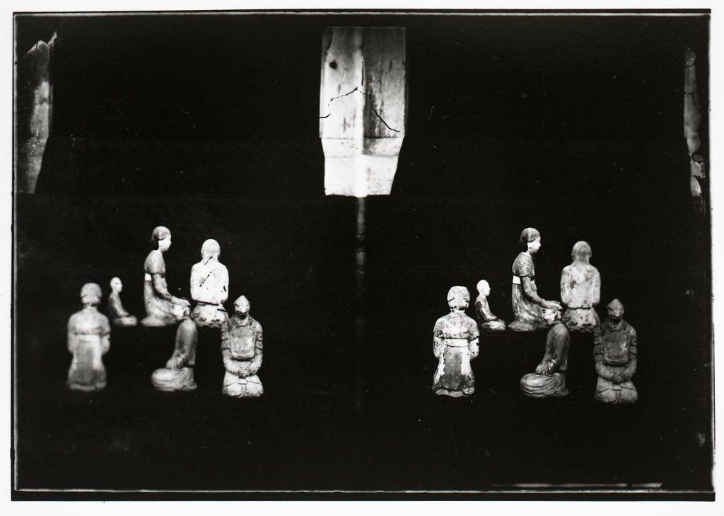 作品画像:法隆寺五重塔内塑像
