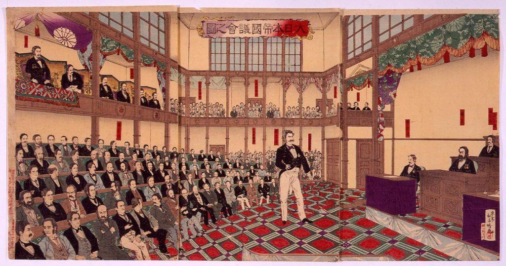 作品画像:大日本帝国議会之図