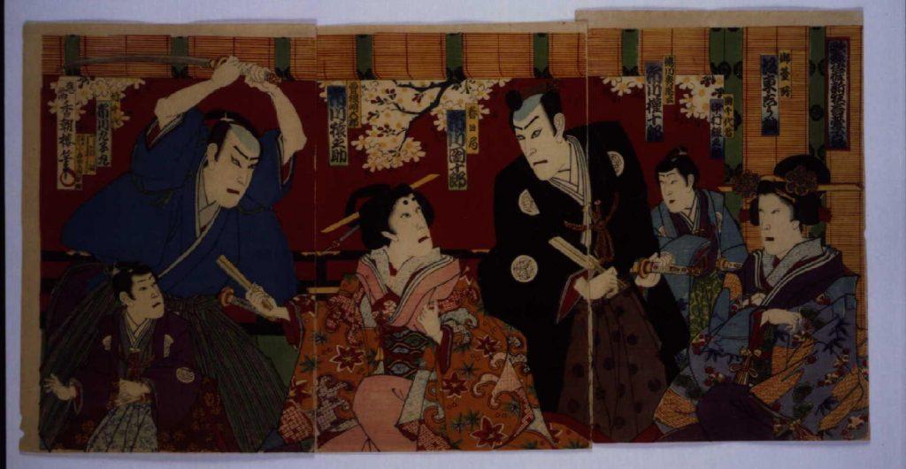作品画像:歌舞伎座新狂言萱子の場