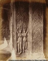 作品画像:寺院の内部装飾
