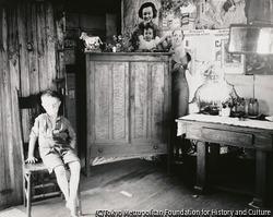 作品画像:鉱夫の家、ウエスト・ヴァージニア州、モーガンタウン付近