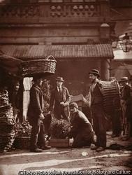 コヴェント・ガーデンの労働者