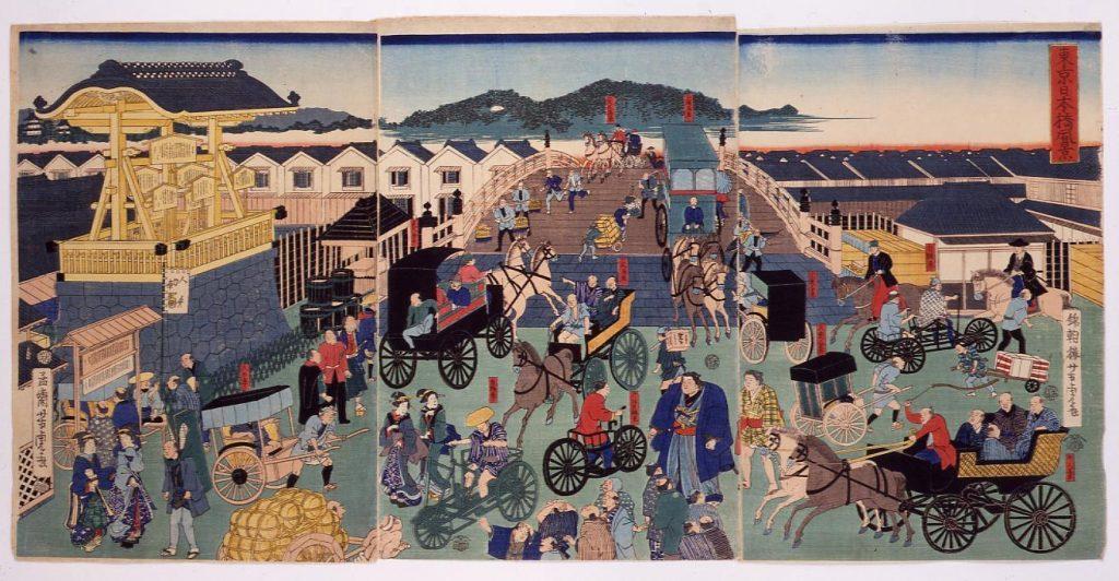 作品画像:東京日本橋風景