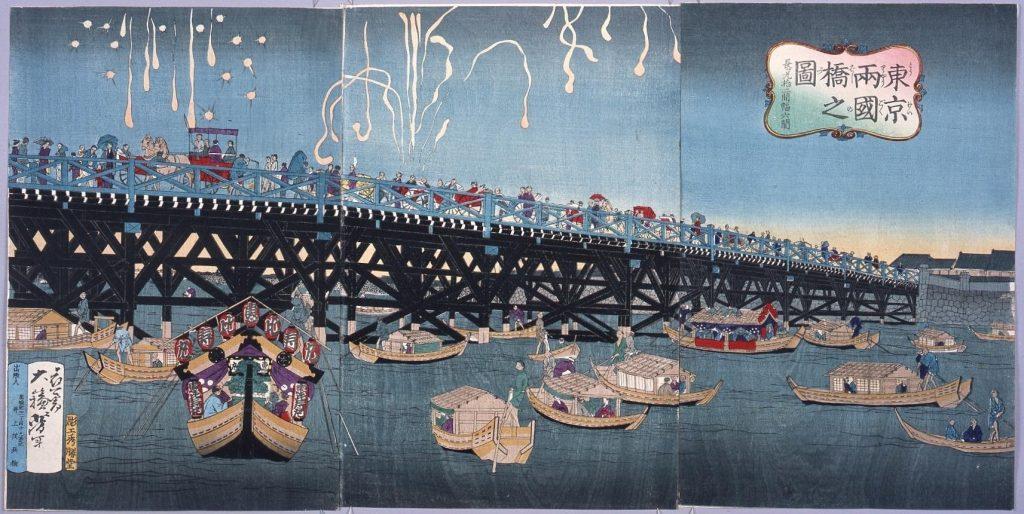 作品画像:東京両国橋之図