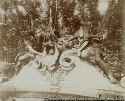 作品画像:大トリアノン宮殿のビュッフェ(複式噴水)