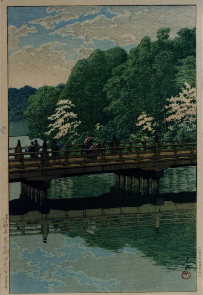 作品画像:赤坂弁慶橋