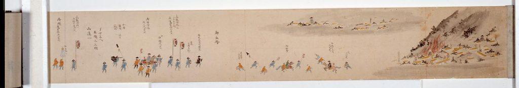 作品画像:出羽・米沢藩 上杉家 大名火消行装図巻