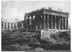 作品画像:アテネのパルテノン神殿、ギリシャ