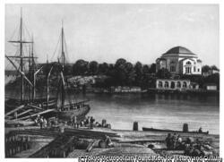 作品画像:スウェーデン、ストックホルムの船舶I(海軍)教会