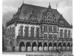 作品画像:ドイツ、ブレーメン市庁舎