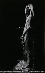 作品画像:百済観音立像