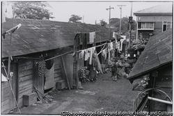 作品画像:板橋の細民街